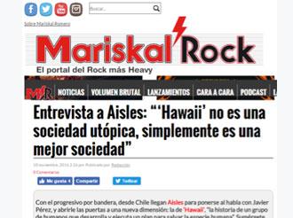 """Entrevista a Aisles: """"'Hawaii' no es una sociedad utópica, simplemente es una mejor sociedad"""""""