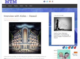 Interview with Aisles – Hawaii