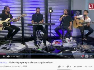 Aisles, la banda chilena de música universal, conversa sobre sus planes artísticos